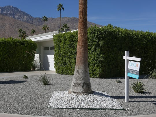 A home is for sale on S. Toledo Ave in Palm Springs,