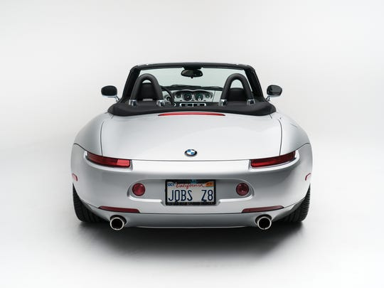 The second owner of this 2000 BMW Z8 makes it clear