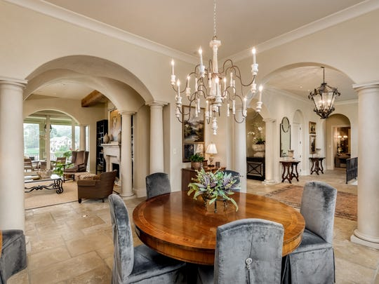 The dining room of the home at 45 Governors Way in Brentwood, which was recently listed for $2.65 million.