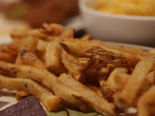 Short's fries are hand-cut and are fried just enough to get that perfect balance of crunchy outside and fluffy inside.