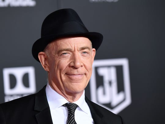 J.K. Simmons sports a smart chapeau at the world premiere