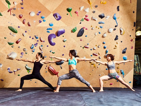 Group exercise classes, like yoga, are included with