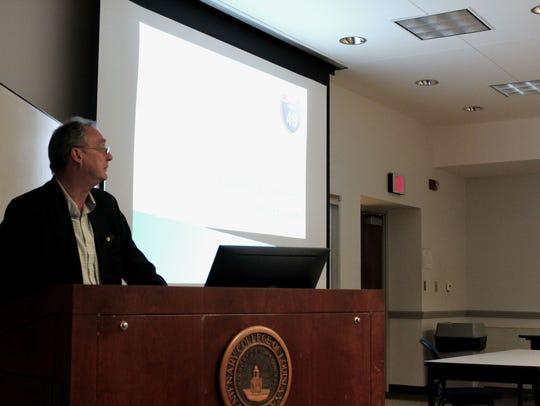 NLCOG Executive DIrector Kent Rogers gave a presentation