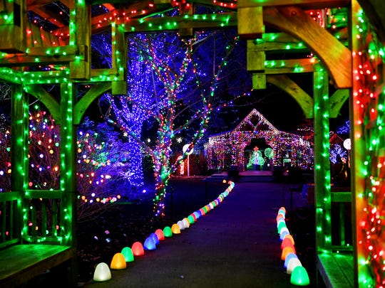 Winter Lights at the North Carolina Arboretum will be open nightly now through December 31 from 6-10pm. The display features nearly 500,000 LED lights and holiday music.