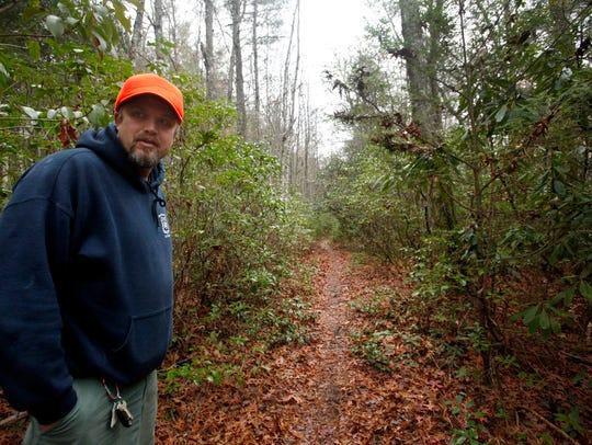 Patrick Scott, Pisgah District trail program manager