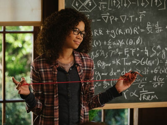 In 'A Wrinkle in Time,' Storm Reid is a teen who embarks upon an astonishing adventure in search of her father.