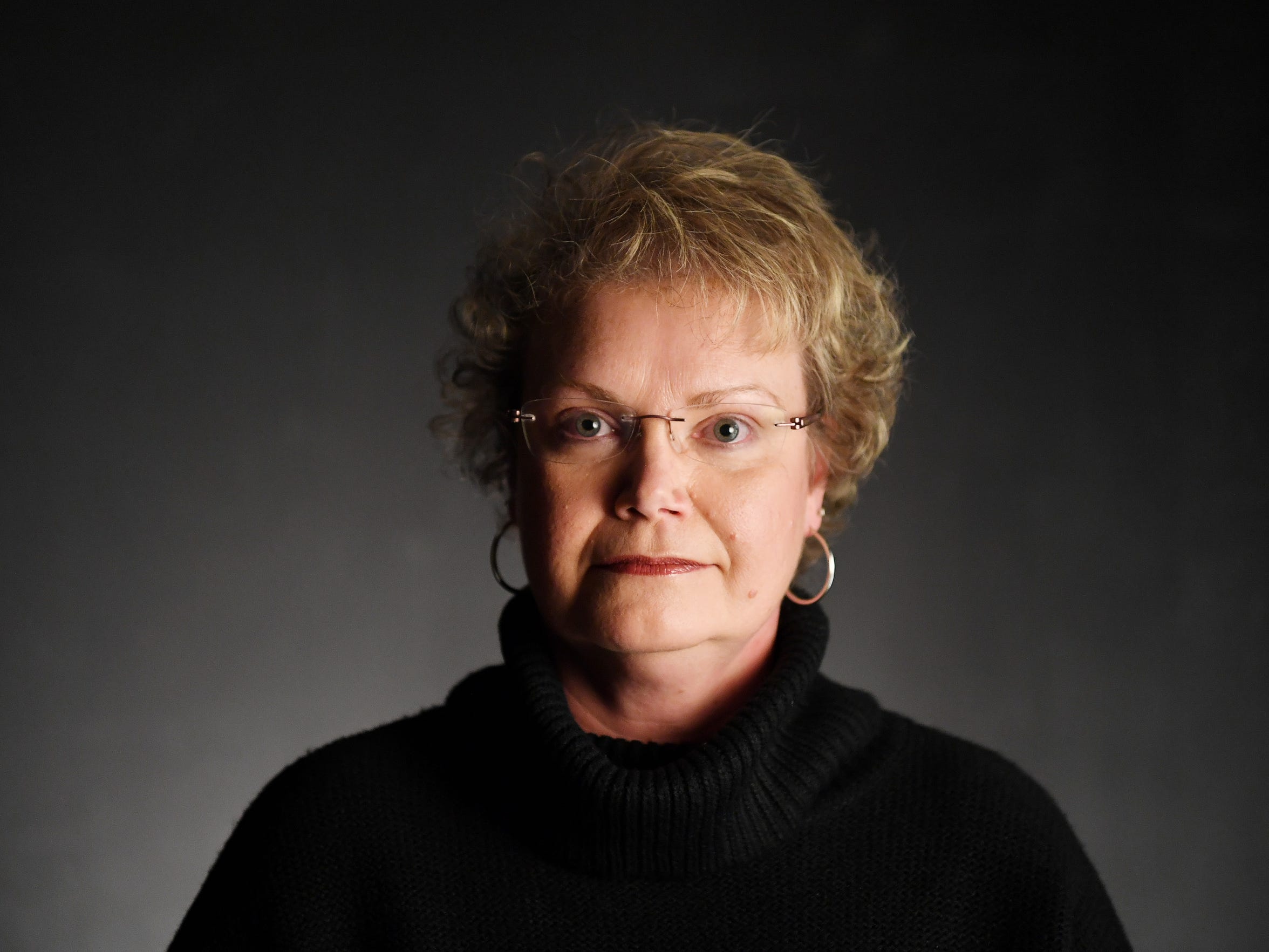 Tammy Shook, former social work division director of Buncombe County Health and Human Services.