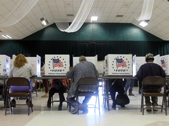 In this 2016 file photo, voters at the Sgt. Willie