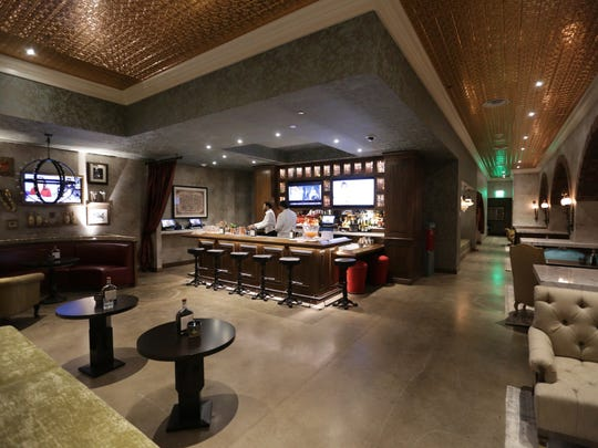 The Speakeasy Bar, at the new Omni Hotel.