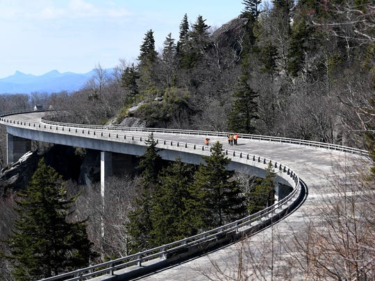 The Linn Cove Viaduct will remain closed until May