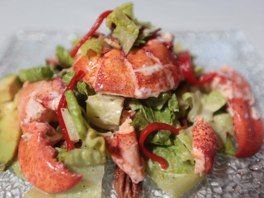 The lobster caesar salad can be had at Esty Street
