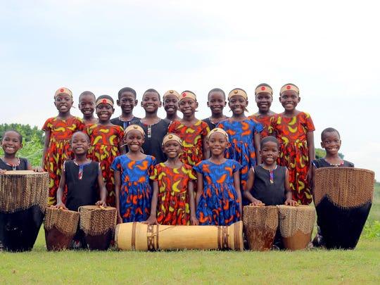 The 48th incarnation of African Children's Choir, set