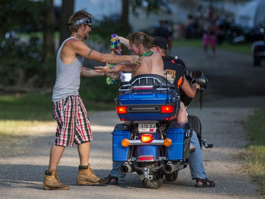 Thousands Gather At Sturgis Motorcycle Rally Despite