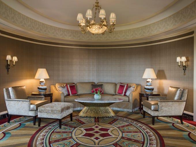 The historic Willard InterContinental hotel in Washington,