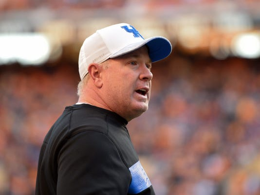 NCAA Football: Kentucky at Tennessee
