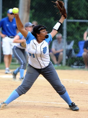 Olivia Jackson is one of the top pitchers in Northern Kentucky.