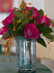 A floral arrangement that will be created by guests at a workshop at Southern Exposure.