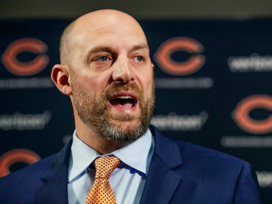 Bears coach Matt Nagy, a former University of Delaware quarterback, can help the Eagles' playoff chances by beating the Vikings on Sunday.