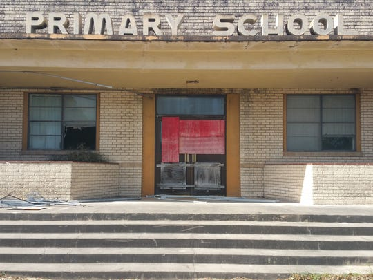 Two of four Premont ISD campuses are in use — the high