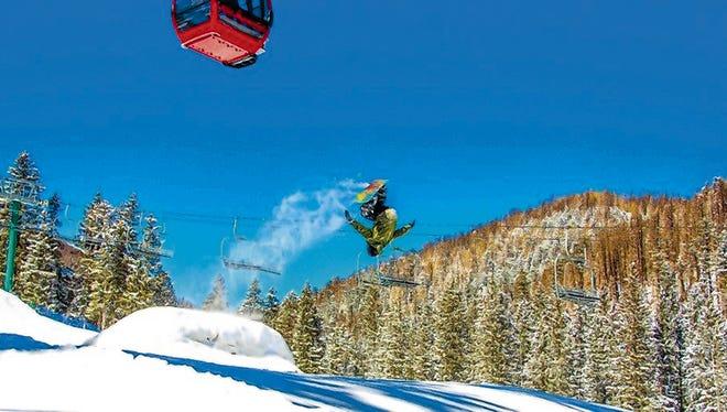 Ski Apache's Terrain Park Competition of the 2015-2016 winter season on Saturday.