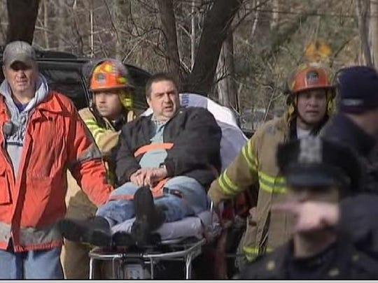 Metro-North train Locomotive engineer William Rockefeller was going 82 mph on a 30 mph curve before it derailed Dec. 1, 2013, killing 4 people and injuring over 60. Photo Courtesy NBC 4 New York