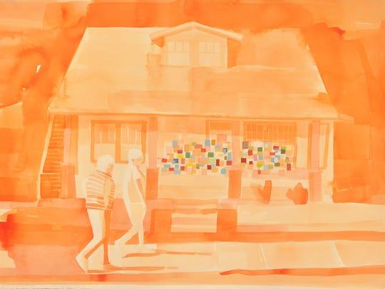"Jodi Hays, ""Sisters/Encouragement (sisters),"" 2017,"