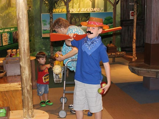 "This ""cowboys and Indians""-themed birthday party at the Pensacola Children's Museum was a huge success."
