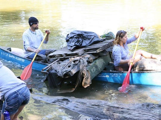 River cleanups, like this one in Muncie, are a part of White River Festival.