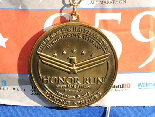honor run medal