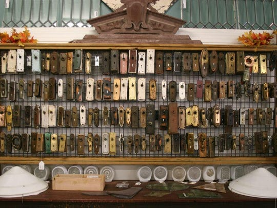 ReHouse Architectural Salvage in Rochester has a variety of door plates and other items from older homes upstate.
