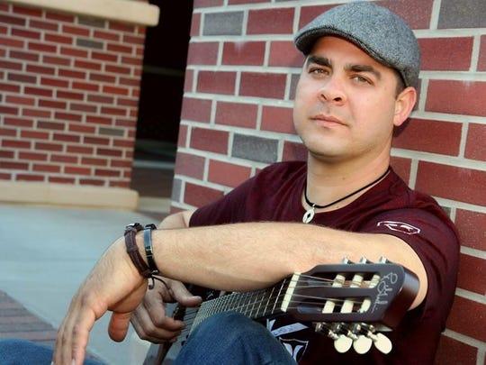 Elio Delgado singer Latin Fest art