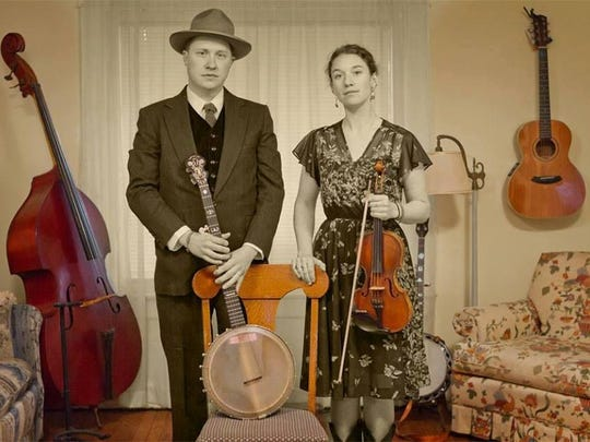 Brian Vollmer and Claire Byrne perform Saturday at
