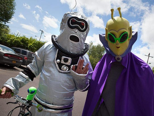 The 20th UFO Festival will take place Thursday through Saturday, May 16-18.