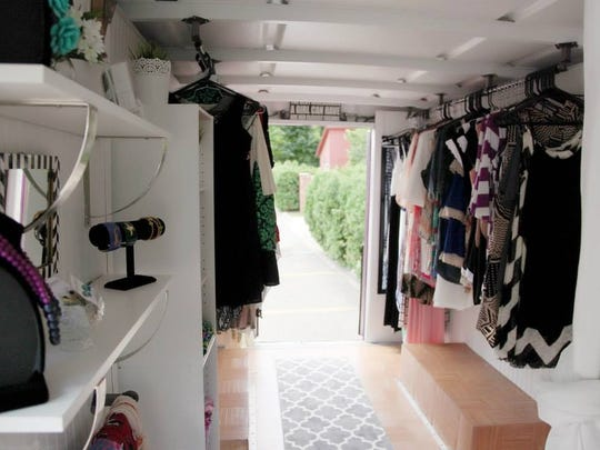 The fashion truck contains every item in the Madison