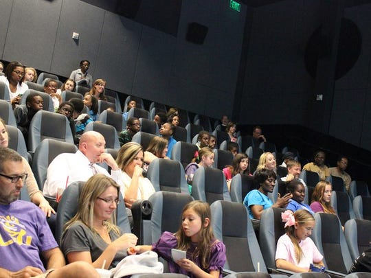 """Parents and their children attended screenings of the documentary """"I Am Eleven"""" at the Robinson Film Center on Nov. 1. The screenings were part of the Shreveport Times' Make a Difference Day."""