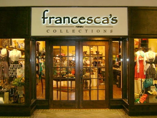 francesca's online boutique is a place where you can shop, surf, or play whenever you wish. francesca's® online shop is filled with an eclectic mix of carefully-curated and fashionable pieces.