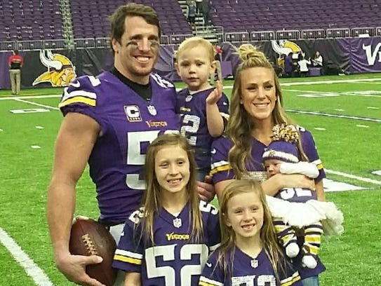 Greenway's family includes wife Jennifer and daughters Maddyn (10), Beckett (7), Blakely (3) and Carsyn (1).