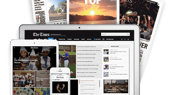 Get the latest Shreveport-Bossier news with a digital subscription to The Times.