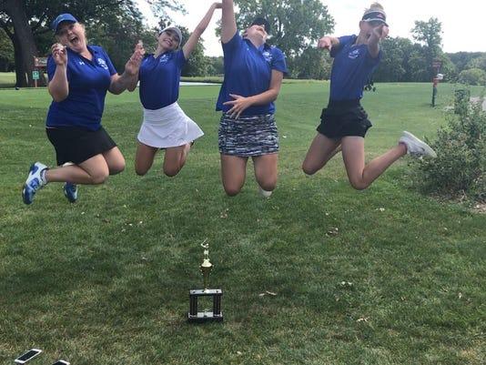 Oak Creek golfers win title