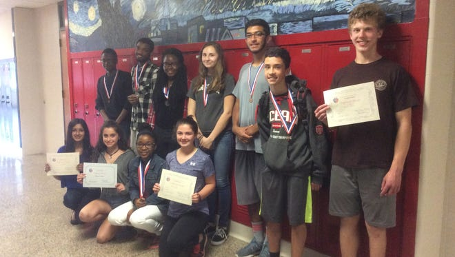 Nineteen students from the Ocean Township School District have ranked nationally in the 81st annual event, according to Lisa Narug, National Director of Le Grand Concours.
