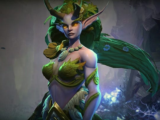 """Dryad Lunara in """"Heroes of the Storm"""" features a unique"""