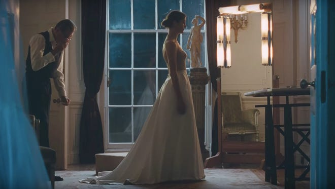 "Daniel Day-Lewis is a high-end dressmaker in ""Phantom Thread."""