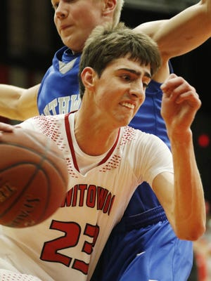 Manitowoc Lincoln's TJ Schneider is a likely leading contender for next season's HTR Media Player of the Year award.