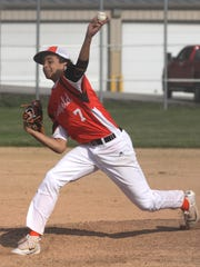 Mansfield Senior's Jakobe Reese brings a load of experience back to the mound for the Tygers.