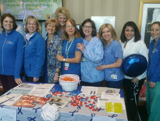 Heartbeats: Fighting colorectal cancer PHOTO CAPTION