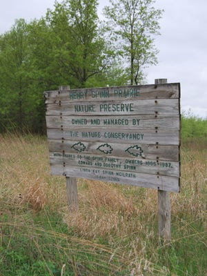 The nature preserve protects 29 acres of original Indiana prairie. It is one of the larger such parcels in the state.