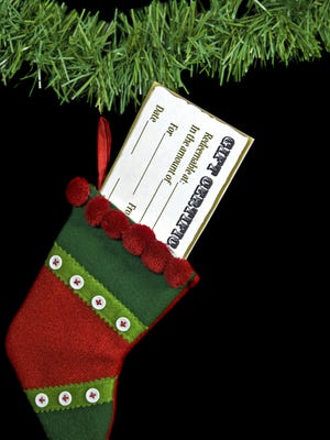Put a smile on someone's face this season with a utility gift certificate.