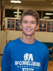 Landon Richards, McConnellsburg boys basketball