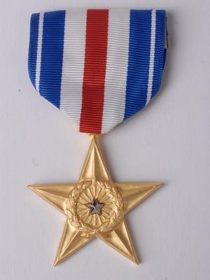A Silver Star medal