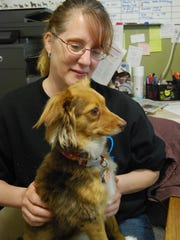 Carol Schmidt of the Sanilac County Humane Society,